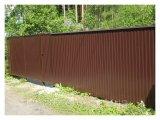 Фото  3 Забор из профлиста 3956640