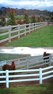 Забор из ПВХ Ранчо. Цвет белый. Высота-1.35м, длина-2.44м.