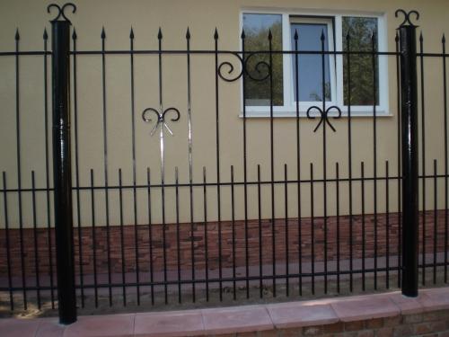 Забор кованый ОК002
