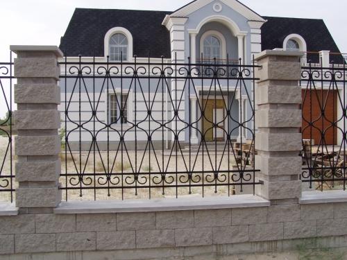 Забор кованый ОК003