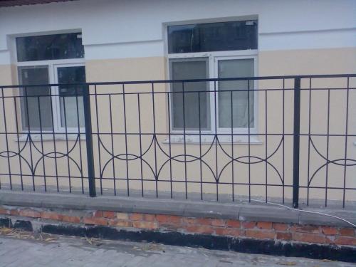 Забор кованый ОК006
