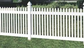 Забор пластиковый. Высота 0,61м. Длина 2м. Комплект панель столб.