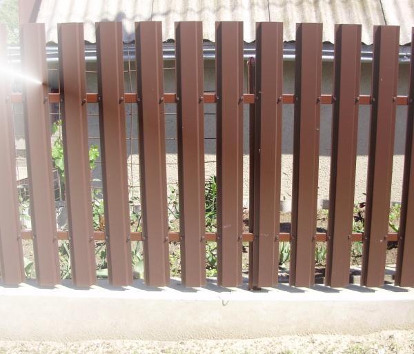 """Забор """"Элит"""" штакетный. .."""