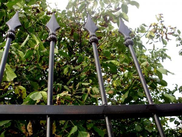 Забор секционный металлический