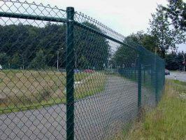 Забор сетка рябица - цена с установкой и без