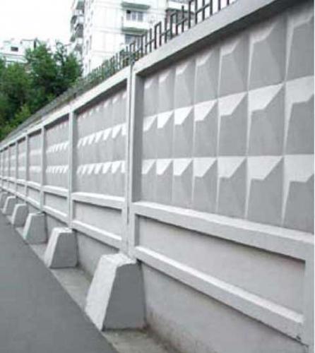 Забор железобетонный