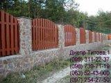Фото  1 Забор из профнастила, секционный, совмещенный 1762433