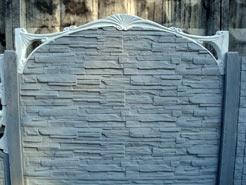 Заборы бетонные, более 20-ти видов декоративных плит!