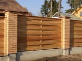 Заборы и ограждения из дерева