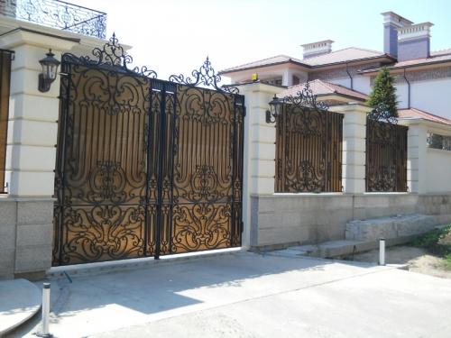 Заборы кованные в Одессе
