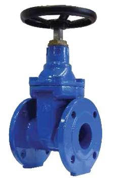 Задвижки с обрезиненным клином PN 1,0-1,6МПа DN 50-600мм, Т-120 для воды, пара, масла