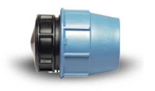 Заглушка ПЭ D 63 мм