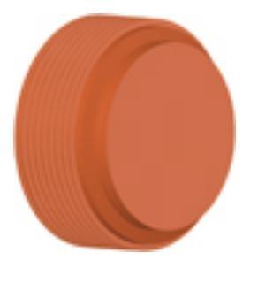 Заглушка ПП InCor для гофрированных труб D 250 мм