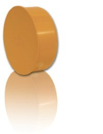 Заглушка ПВХ для безнапорной внешней канализации D 200 мм