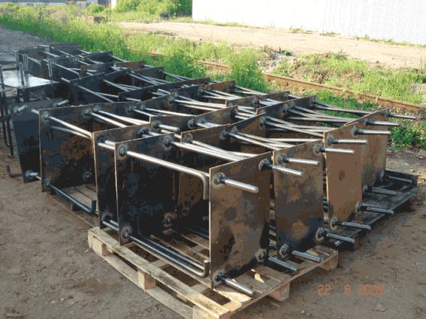 Закладные детали для монолитного строительства из нового и б/у металла