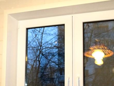 Замена откосов на пластиковых окнах