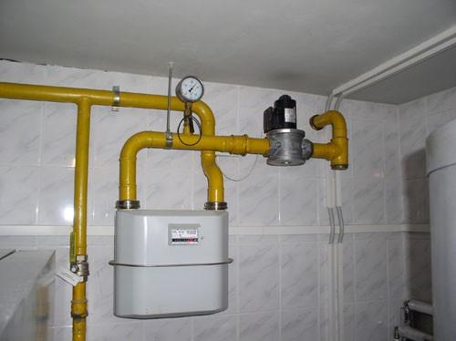 Замена перенос газового счетчика, цена в Киеве
