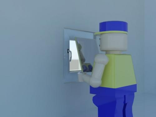 замена стеклопакета 24мм, прозрачное стекло