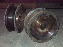Запасные части к кранам Колеса крановые