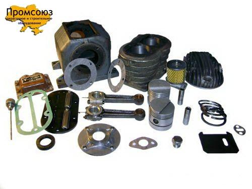 Запчасти к компрессору СО-7Б, СО-243, У43102, ПКСД кольца, коленвал, шатун, поршень, палец, клапанная плита, ремкомплект