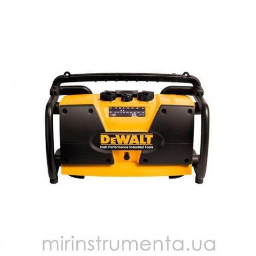 Зарядное устройство +радио (DW911), 7.2-18 В, DeWalt