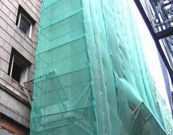 Защитная фасадная сетка для лесов строительных. Доставка в любой город!!!