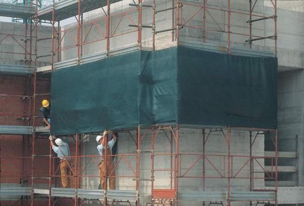 Защитная фасадная строительная сетка. Доставка по всей Украине!!!
