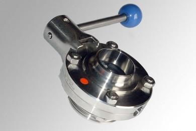 Заслонка дисковая нержавеющая AISI304 Ду65 Р-С