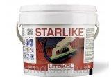 Затирка эпоксидная Litokol Starlike(литокол старлайк)С.310-2,5кг для швов плитки, мозаики(classic)