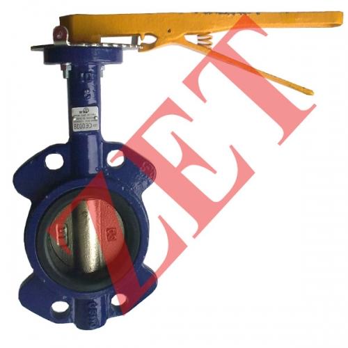 Затвор поворотный типа Баттерфляй для газа (Италия) Ду150