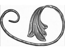 Завиток - 9070 - кованые элементы, ковка