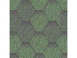 Фото  1 Битумная черепица АКВАИЗОЛ серия  Мозайка Зеленая ЭКО НОВИНКА! 1763102