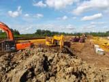 Земляные работы: планировка грунта