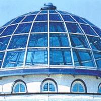 Зенитный фонарь, стеклянные - крыша, купол. Проектирование, изготовление, монтаж