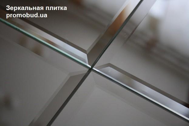 зеркальная плитка - фото