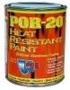 Жаростойкая краска POR-20 выдерживает температуру до 760°С, противостоит экстремальным погодным условиям, соли и влаге.