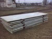 ЖБИ б/у. плита заборная, канальная- 2х6м, 1,5х6м, 1х6м, 0,70х6м.