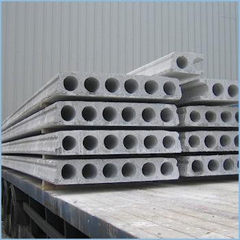 Железобетонная плита перекрытия ПК 55-15-8: 5480х1490х220мм