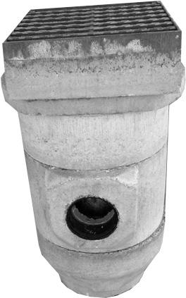 Железобетонные элементы водосточной канализации любой комплектации и любой высоты