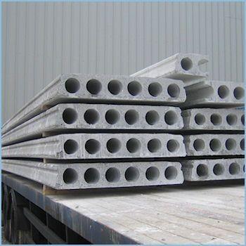 Железобетонные пустотные плиты ПК 40-12, ПК 45-12 , ПК 50-12