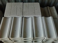 Желоб бетонный водосточный. Длина - 333мм. (Вибролитьё. Пропарка. )