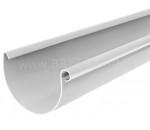 Желоб водосточный 125 мм / 3000 мм белый / RAL 9010