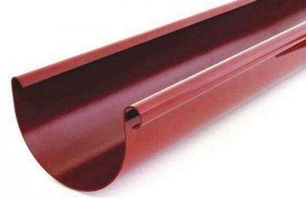 Желоб водосточной системы BRYZA 125;белый, коричневый;диаметр 125 мм; длина 3м.