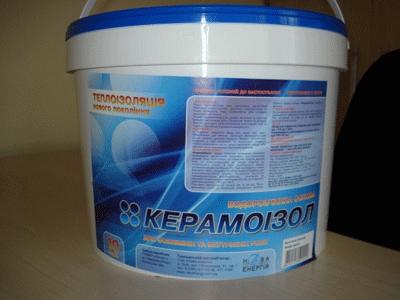 Жидкая энергосберегающая теплоизоляция Керамоизол