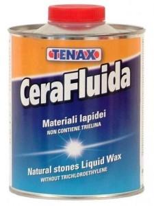 Жидкий воск прозрачный CeraFluidа, химия для камня