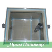 Жироуловитель СЖ-8 с производительностью — 0,30 л/сек, объем залпового сброса 90л