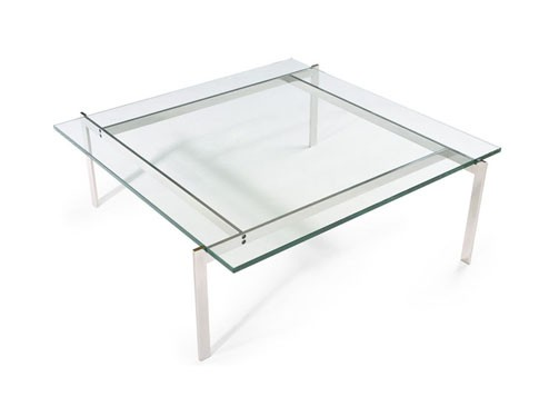 Журнальный столи Эвора, нержавеющая сталь, стекло