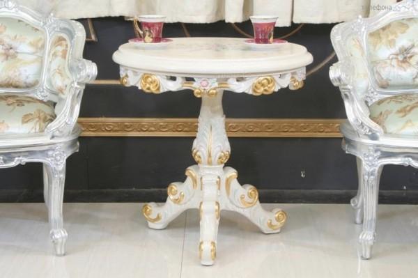 Журнальный столик Курион в стиле барокко