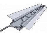 Фото  1 Зиг-заг профиль для крепления пленки в теплице - от производителя 2142053
