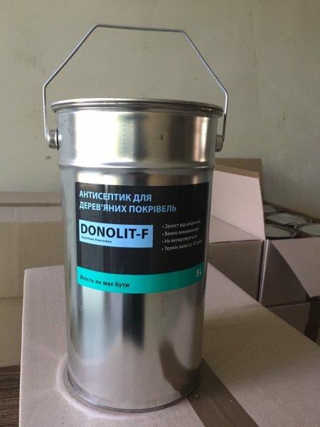 Фото 4 Антисептик для дерева Donolit-F (Донолит) 341559